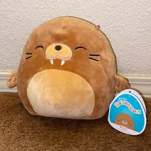 "NWT 7.5"" Bruce Walrus Squishmallow"